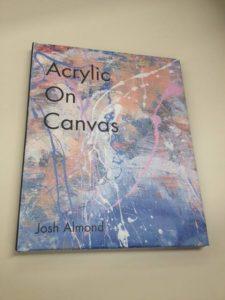 Acrylic On Canvas - my book