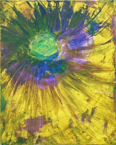 """Sunspot - Acrylic on canvas 16x20"""""""