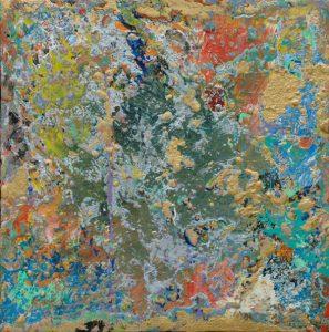 Pangea - Acrylic on canvas 12x12