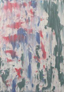 Standing Buddha - Acrylic On Canvas