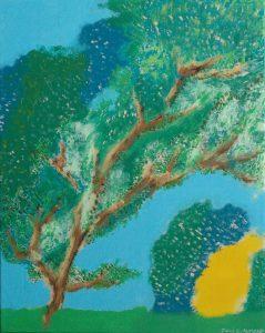 Tree And The Lemony Bush