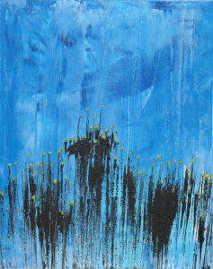"Kelp Cities Under The Sea - Acrylic on canvas 16x20"""