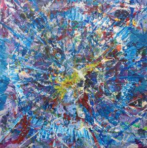 """Acrylic on canvas 20x20"""""""